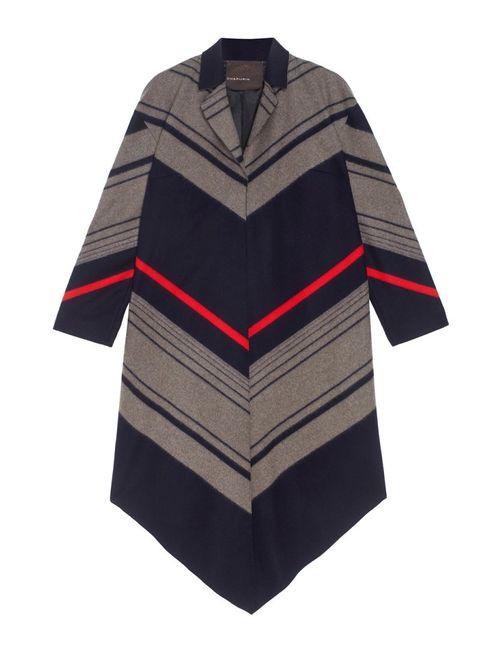 Chapurin | Женское Многоцветное Шерстяное Пальто