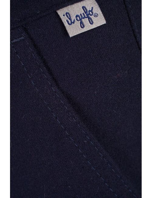 Il Gufo | Синие Однотонные Брюки