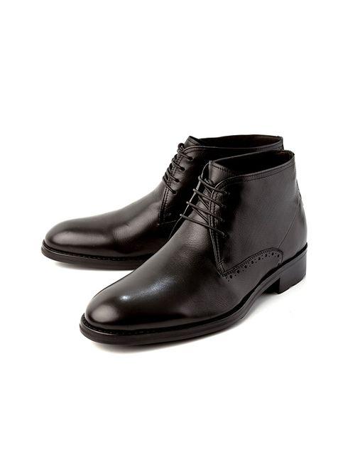 Alba | Мужские Ботинки 2101000110180Черный