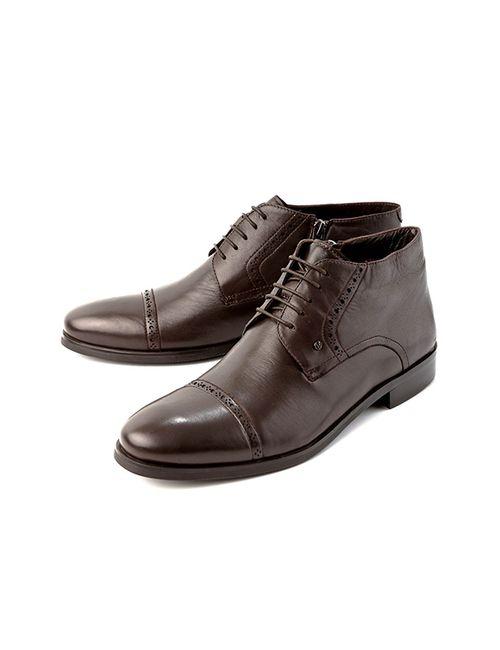 Alba   Мужские Ботинки 2120000050183Коричневый