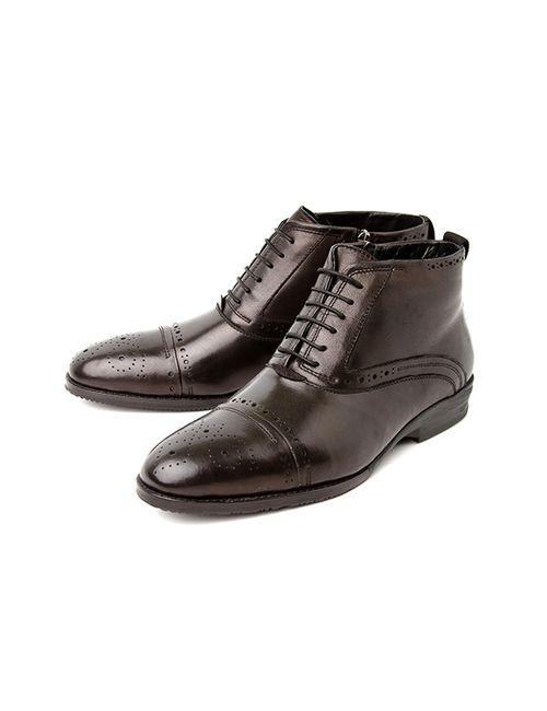 Alba | Мужские Ботинки 2120002510180Черный