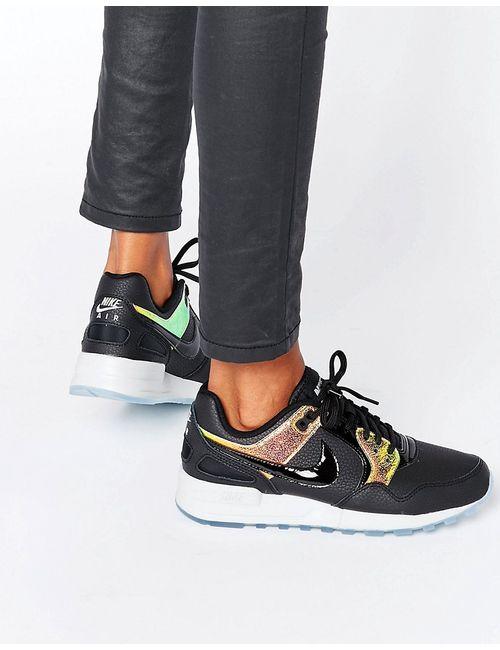 Nike | Женские Чёрные Черные Кроссовки С Голографическим Эффектом Air Pegasus