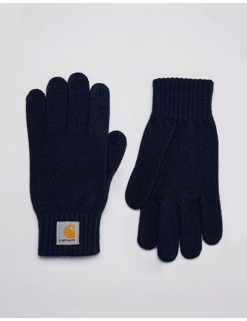 Carhartt WIP   Мужские Синие Перчатки