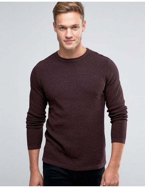 Jack & Jones | Красный Premium Textured Knit