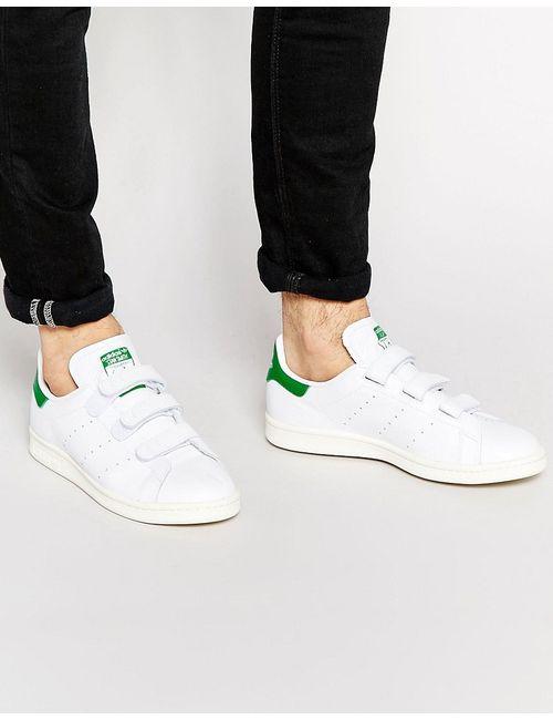 adidas Originals | Белые Кроссовки На Липучках Stan Smith