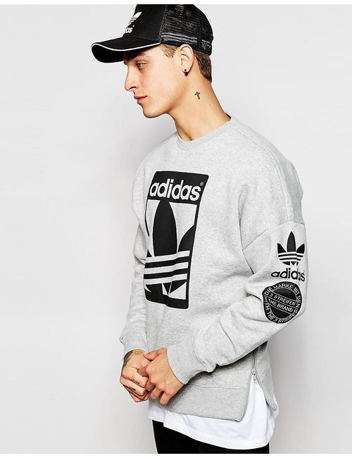 adidas Originals | Серый Graphics Sweatshirt Ab8027