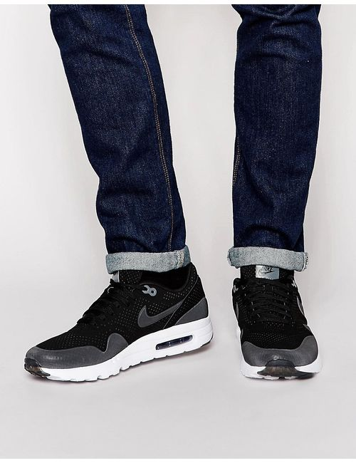 Nike | Чёрные Кроссовки Air Max 1 Ultra Moire 705297-010