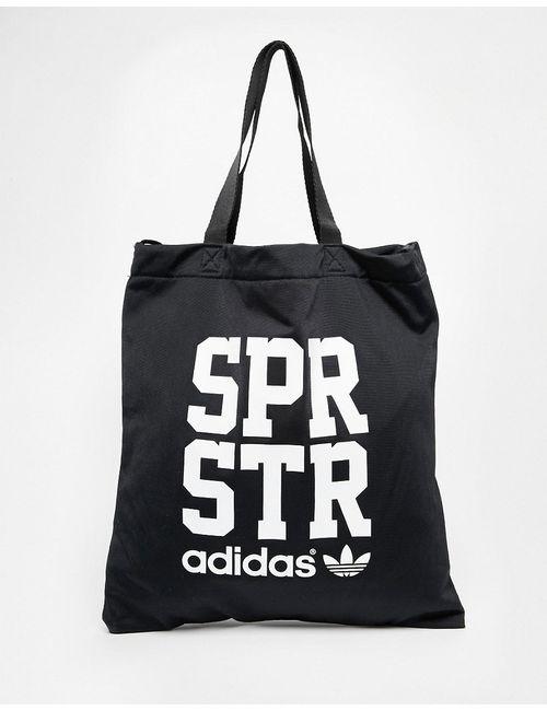 Adidas | Чёрная Сумка-Шоппер Аdidas Originals Superstar