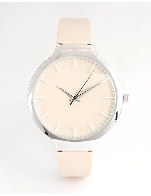 New Look | Телесные Oversize-Часы