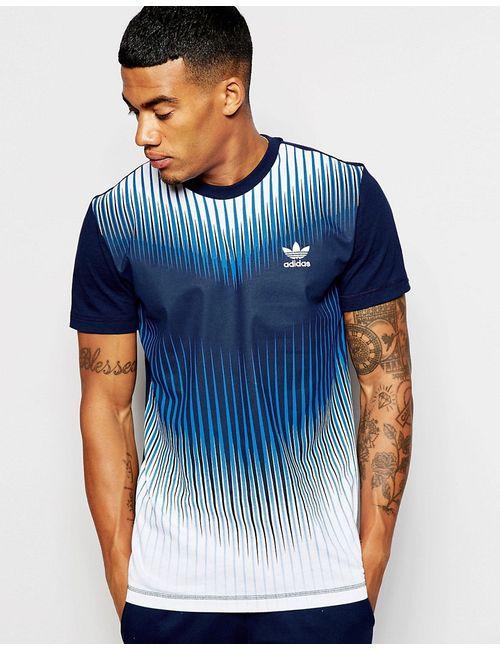 adidas Originals | Синий Mezcla T-Shirt Ao2831