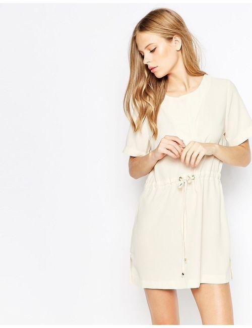 Daisy Street | Женское Белое Платье С Завязкой На Поясе