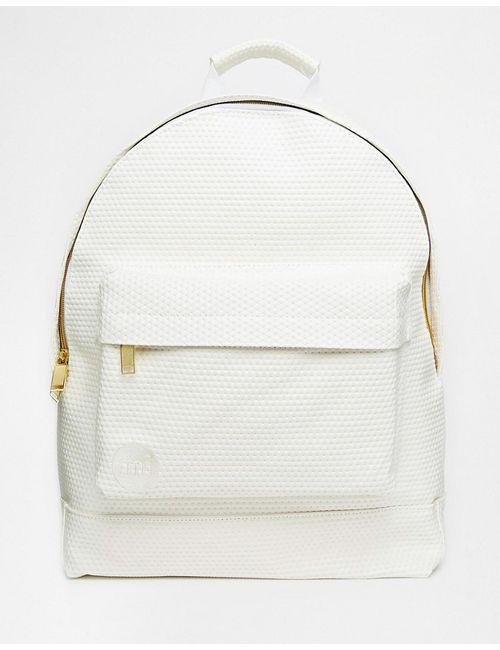 MI-PAC | Белый Рюкзак С Перфорацией