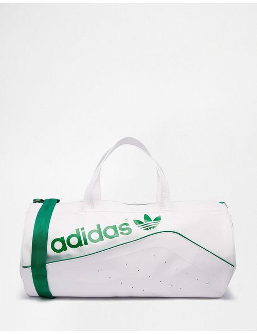 adidas Originals | Белая Классическая Сумка Дафл Ab2843