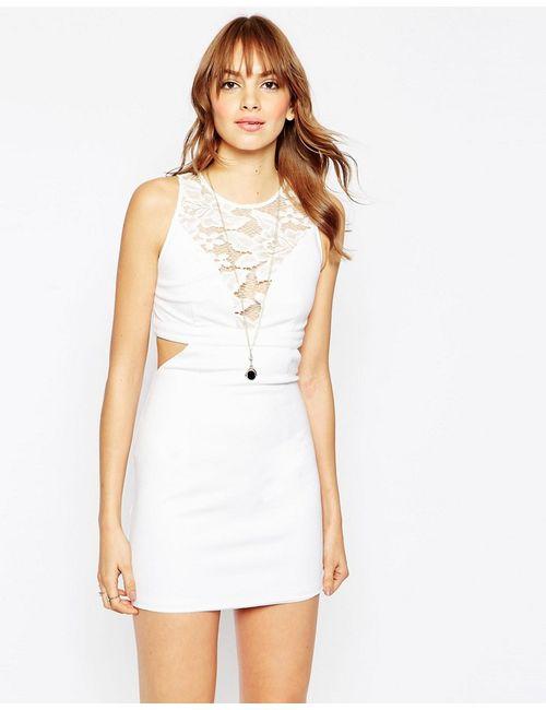 WYLDR | Женское Платье С Вырезами И Кружевными Вставками Look