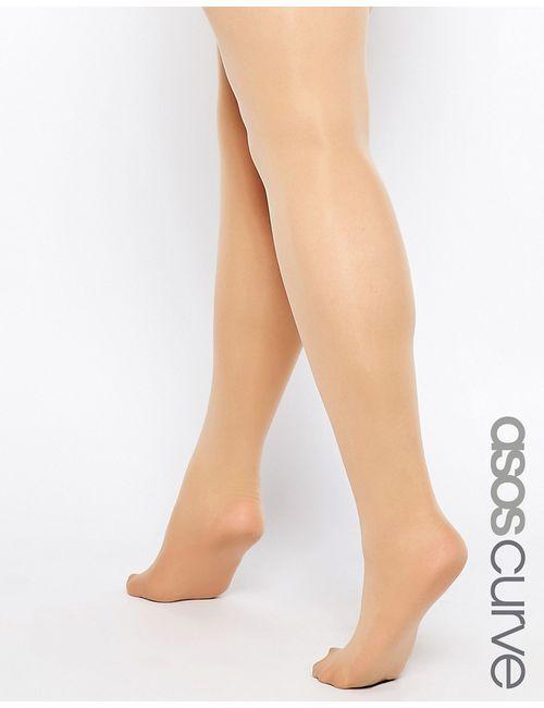 ASOS CURVE | Женские Natural Nude Колготки Телесного Цвета 50 Ден Natural Nude