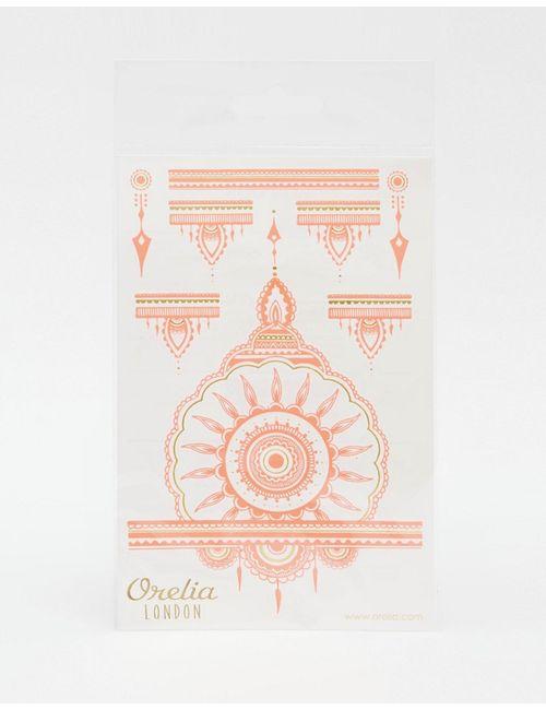 Orelia | Розовые Неоновые Тату С Хной