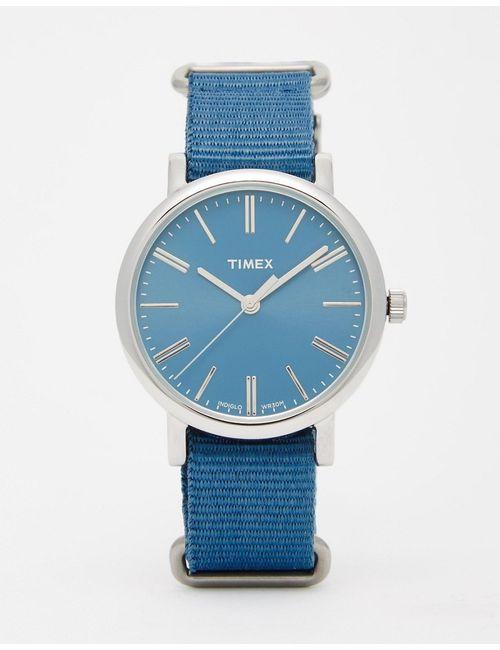 Timex | Мужские Синие Cиние Часы С Нейлоновым Ремешком Classic Tw2p88600