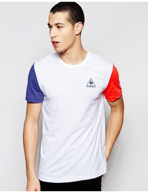 Le Coq Sportif | Мужская Белая Белая Футболка 1611349