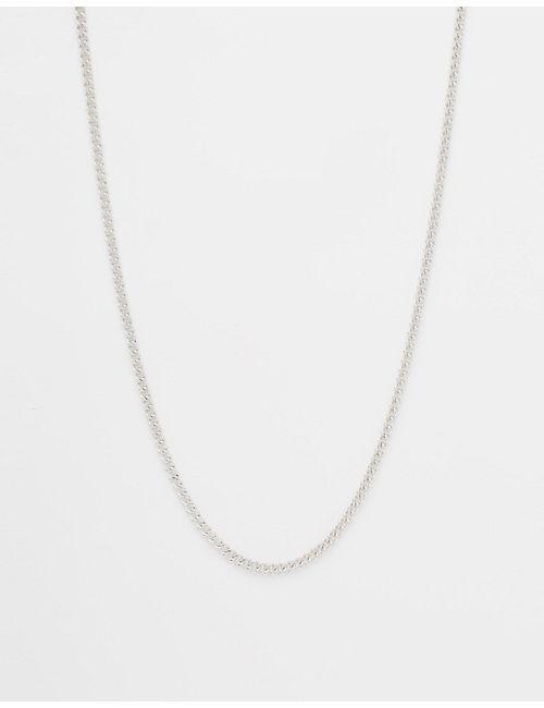 Luv AJ | Серебристое Ожерелье-Цепочка Hapur Silver Ox