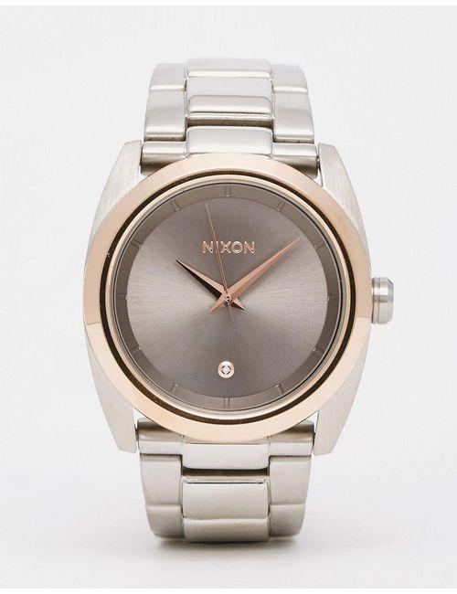 Nixon | Женские Серебряные Серебристые Часы Queenpin