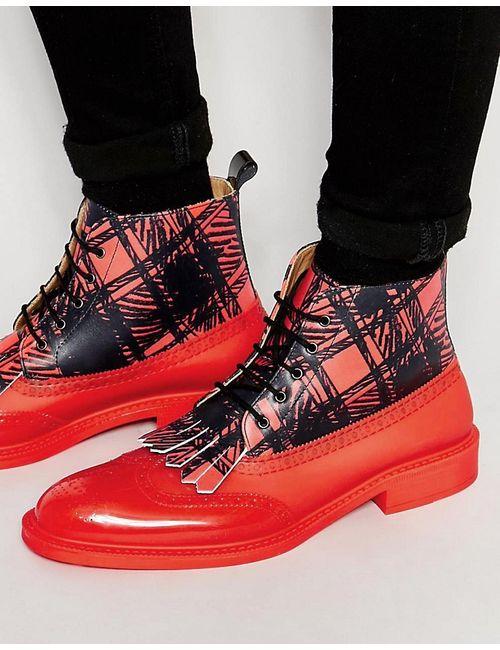 Vivienne Westwood | Красные Ботинки-Броги Красный
