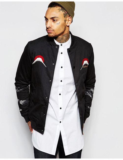 Maharishi | Мужская Черный Куртка С Вышивкой
