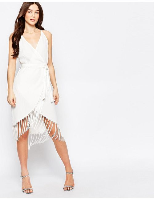 Glamorous | Женское Платье С Бахромой По Подолу