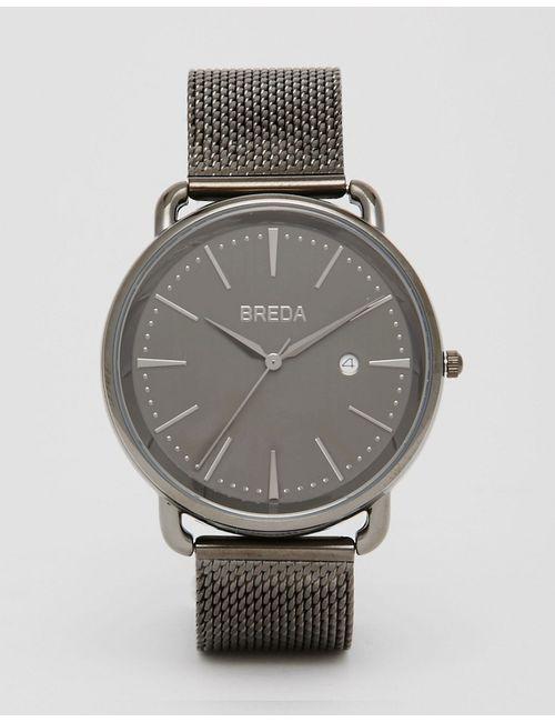 Breda | Мужские Чёрные Черные Часы Из Нержавеющей Стали Linx Черный