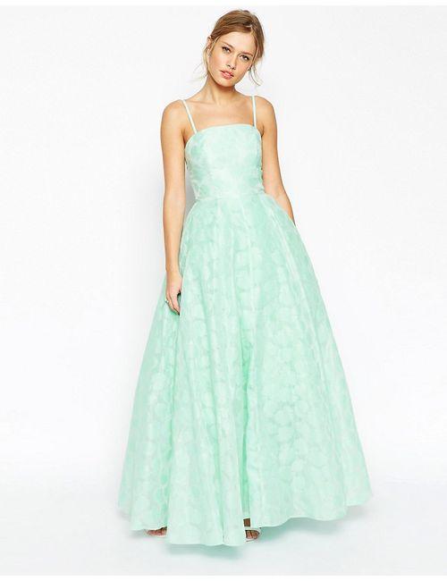 Asos | Женское Платье Бандо Salon Premium