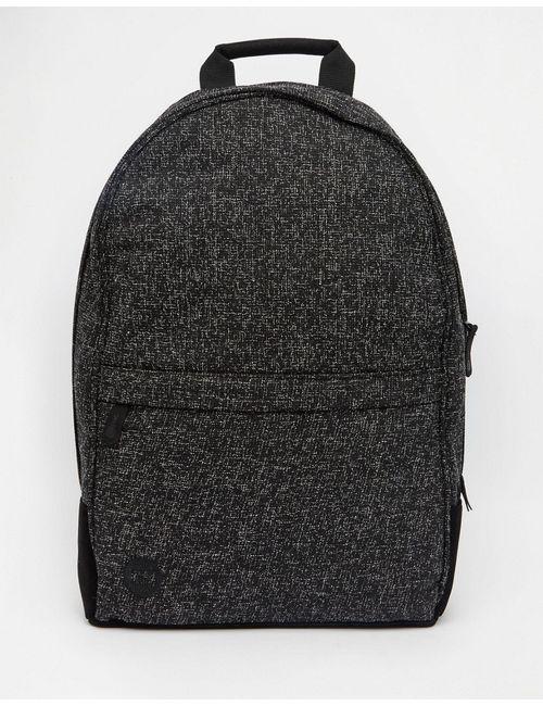 MI-PAC | Мужской Чёрный Рюкзак Из Крепа Maxll