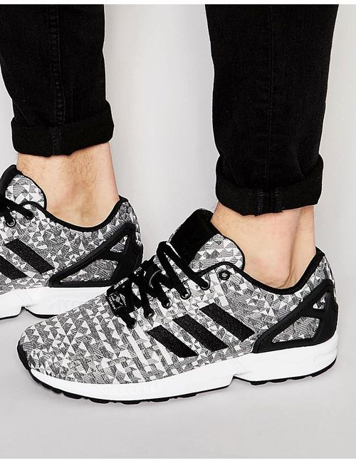 Adidas | Мужские Белые Кроссовки Аdidas Originals Zx Flux Weave