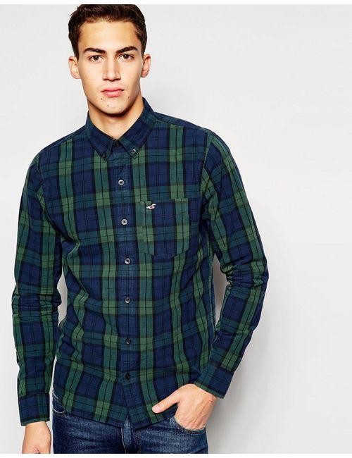 Hollister | Мужская Рубашка Классического Кроя В Клетку