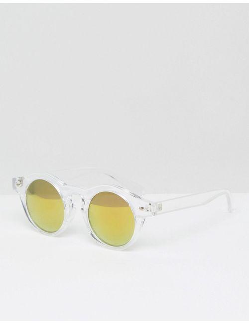 Trip | Круглые Солнцезащитные Очки С Зеркальными Линзами