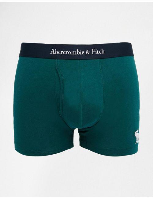 Abercrombie and Fitch | Зелёные Зеленые Боксеры-Брифы Abercrombie Fitch