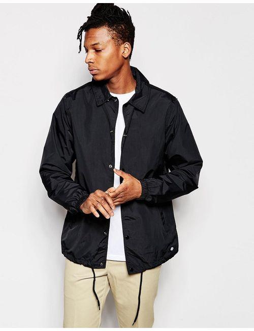 Dickies | Мужская Чёрная Спортивная Куртка Черный
