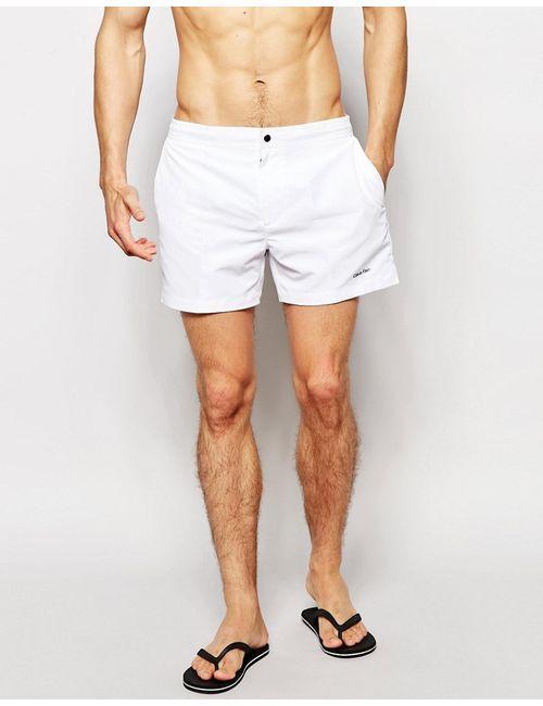 Calvin Klein | Женские Белые Шорты Для Плавания Core