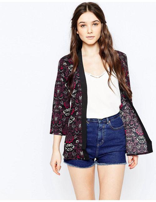 Sugarhill Boutique | Многоцветное Кимоно С Принтом Bonnie