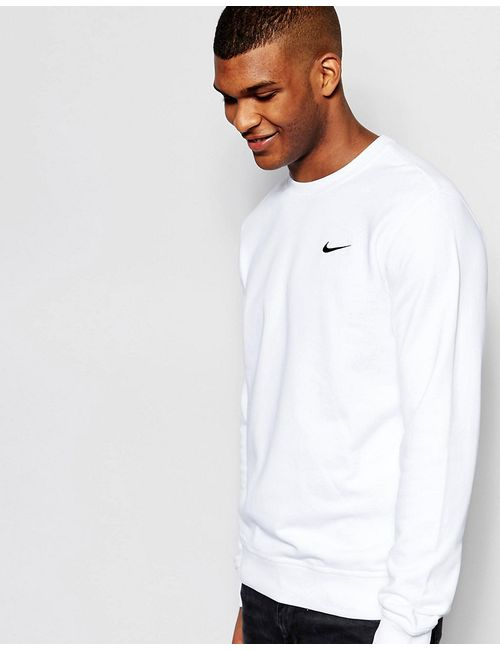 Nike | Мужские Белые Свитшот С Круглым Вырезом И Логотипом 637902-100