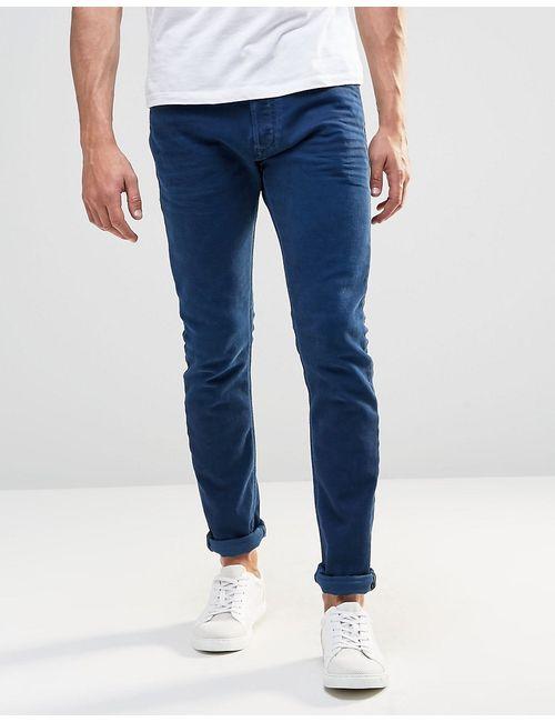 Diesel | Женские Синие Синие Эластичные Джинсы Скинни Jeans Tepphar 850y