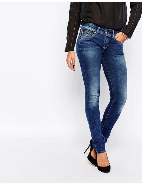 Pepe Jeans | Женские Зауженные Джинсы New Brooke 000 Деним