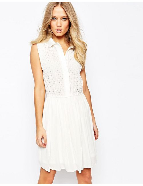 Y.A.S. | Женское Белое Платье Y.A.S