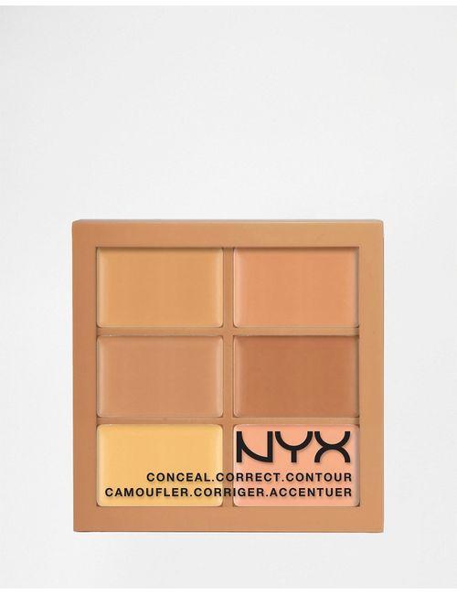 NYX | Средняя Палитра Теней 3c Conceal Correct Contour