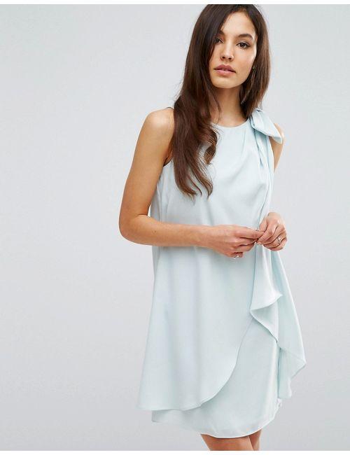 Coast | Женское Платье С Бантом Lydia Мятный