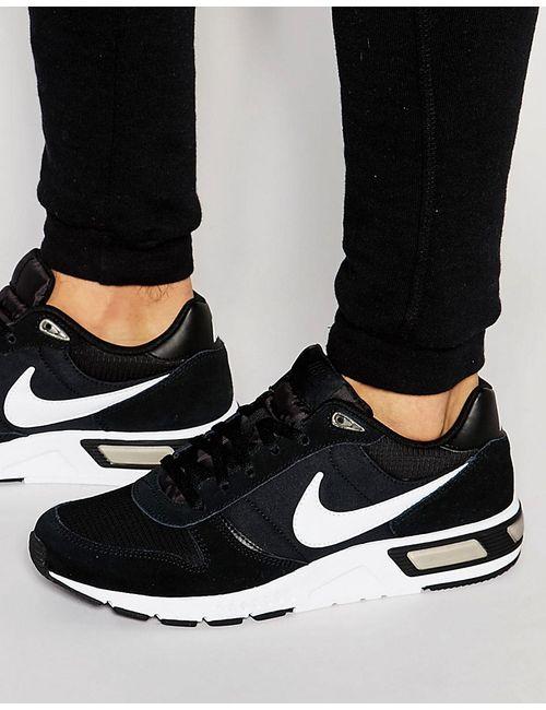 Nike | Мужские Чёрные Кроссовки Nightgazer 644402-011 Черный