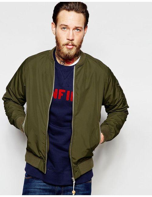 Penfield | Оливковая Зеленая Водонепроницаемая Куртка-Пилот