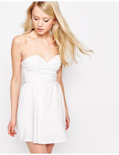 Glamorous | Женское Белое Платье Бэби-Долл Белый