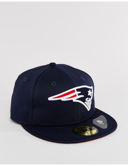 New Era | Синяя Кепка 59 Fifty New England Patriots Синий