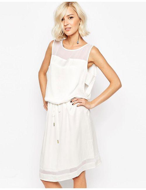 Gestuz   Женское Белое Платье Anni