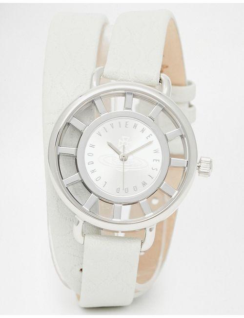 Vivienne Westwood | Мужские Часы С Тиснением На Ремешке