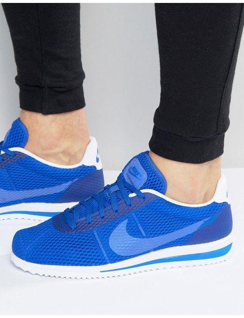 Nike | Мужские Синие Кроссовки Cortez Ultra Breathe 833128-401 Синий